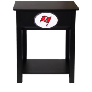 Tampa Bay Buccaneers Birch Side Table