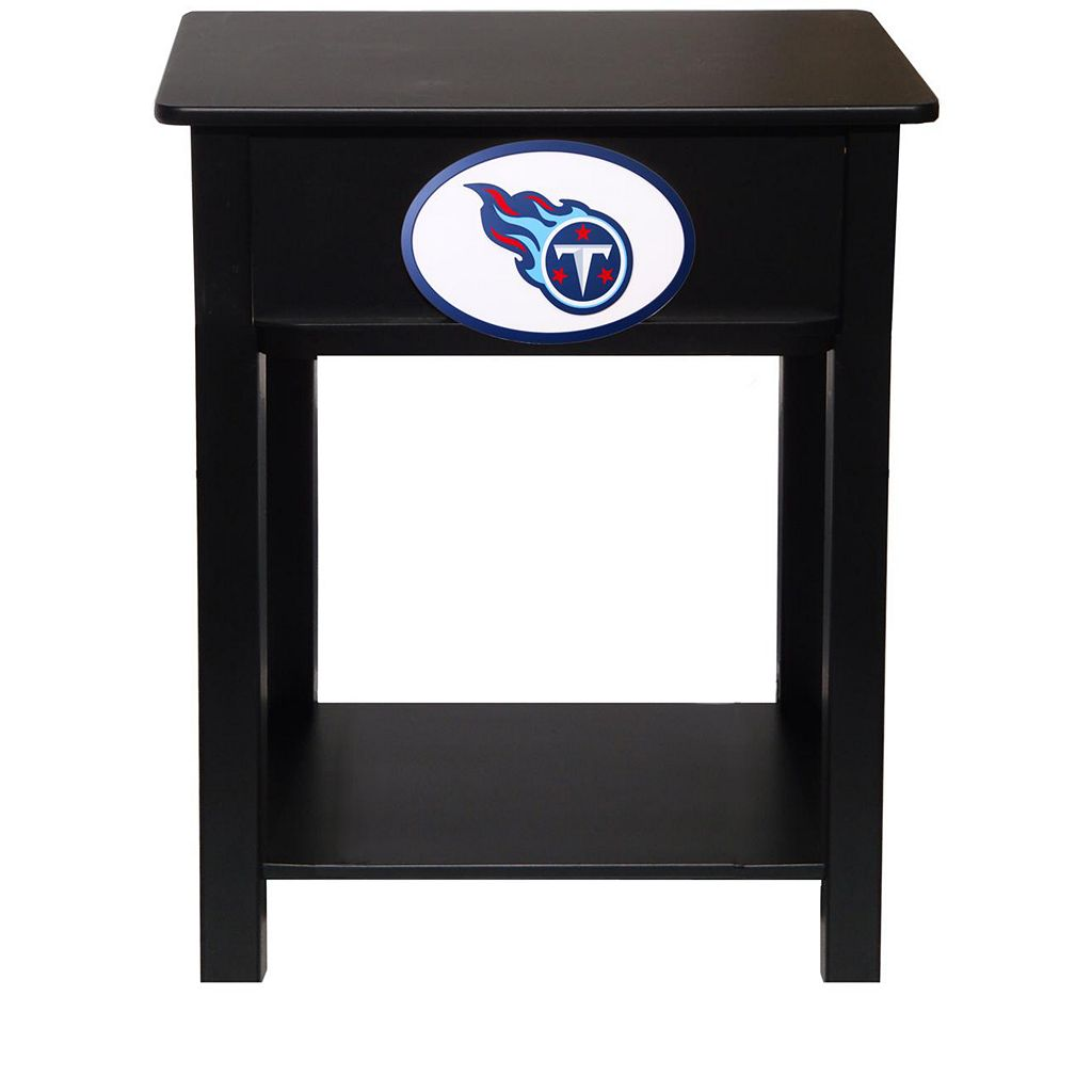 Tennessee Titans Birch Side Table