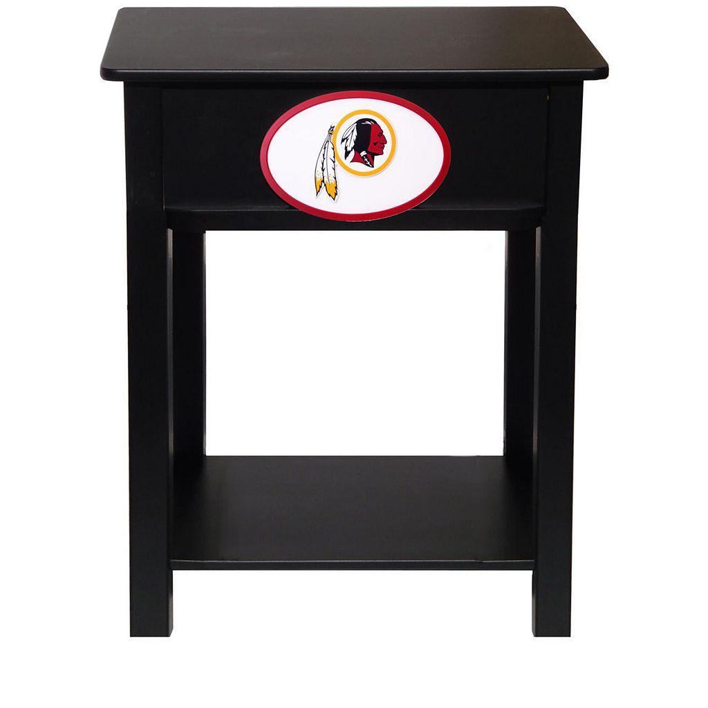 Washington Redskins Birch Side Table