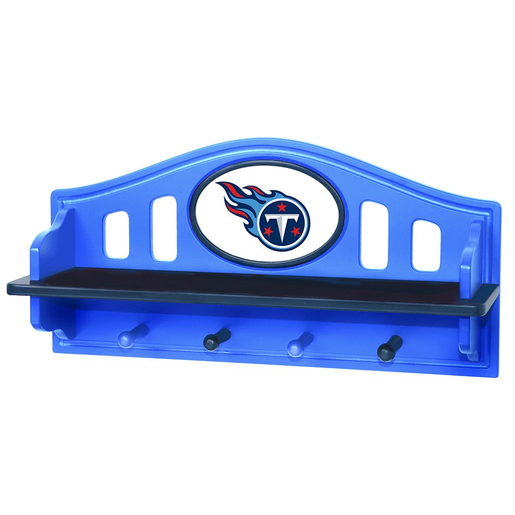 Tennessee Titans Wooden Shelf