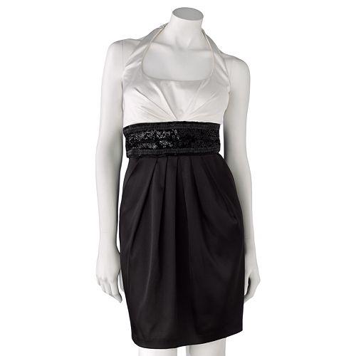 Bee Darlin Beaded Halter Dress $ 69.99