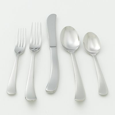 Ginkgo Sea Drift 20-pc. Flatware Set