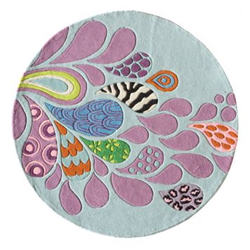 Momeni Lil Mo Hipster Funky Rug - 5' Round