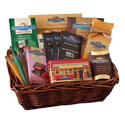 Ghirardelli Connoisseur Gift Basket