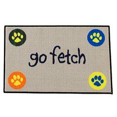 FANMATS 'Go Fetch' Rug