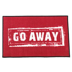 FANMATS 'Go Away' Rug