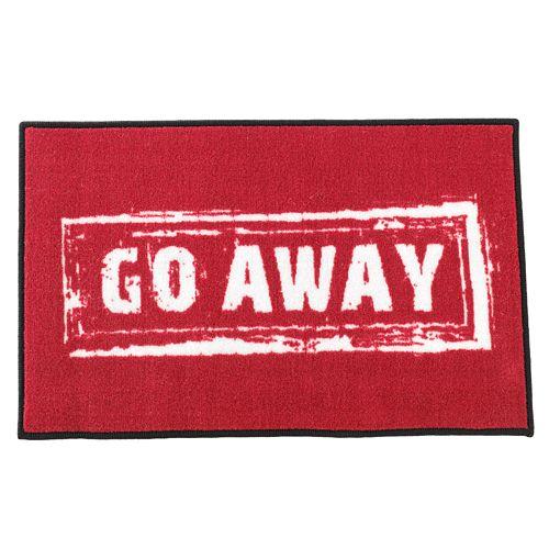 "FANMATS ""Go Away"" Rug"