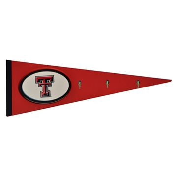 Texas Tech Red Raiders Pennant Coat Rack