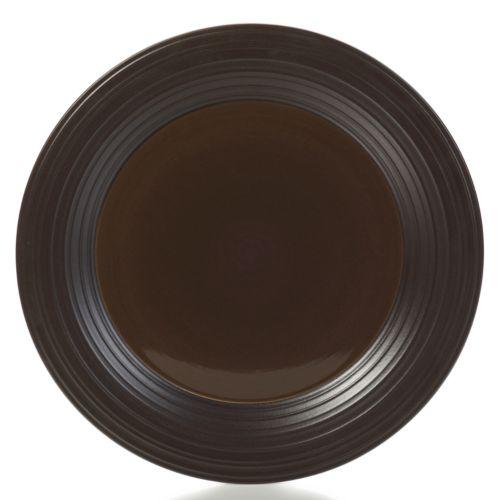 Mikasa Swirl Chocolate Round Platter