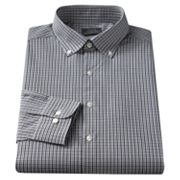 Arrow Slim-Fit Patterned Button-Down Collar Dress Shirt