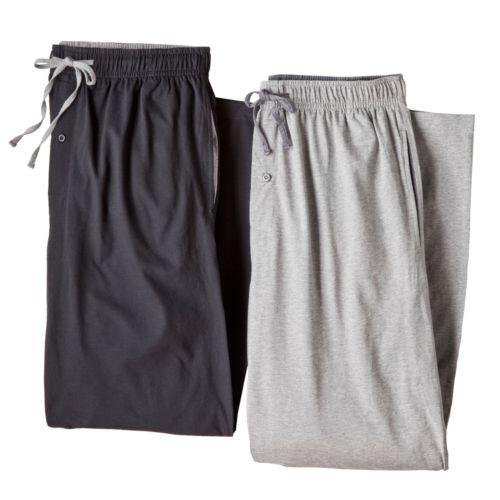 Hanes 2-pk. Solid Lounge Pants
