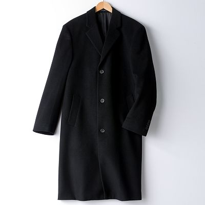 Chaps Parma Wool Overcoat - Big and Tall