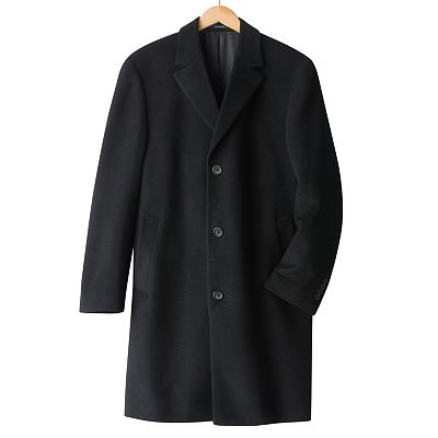Chaps Polar Wool Overcoat - Big and Tall