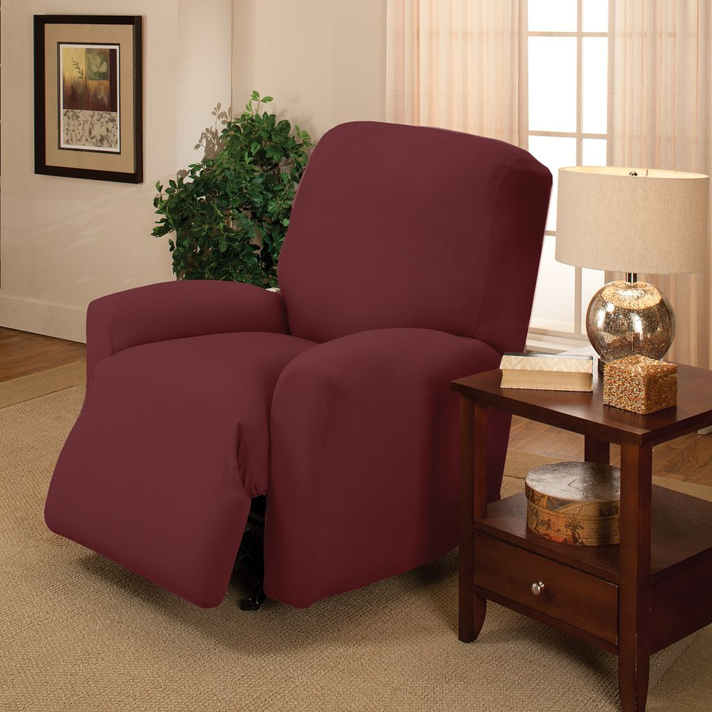 Jersey Stretch Recliner Slipcover