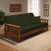 Jersey Stretch Futon Slipcover With Pillow