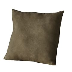 Madison Faux-Suede Decorative Pillow