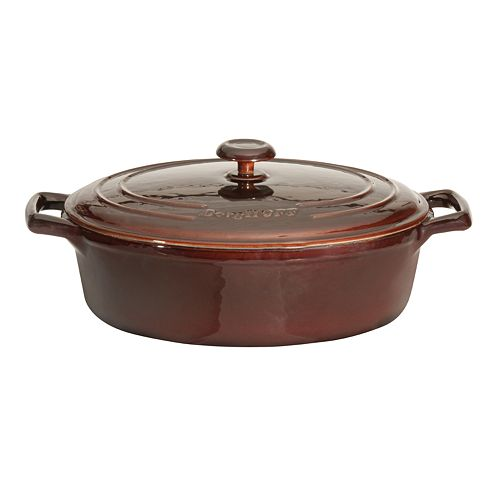BergHOFF Neo Cast-Iron 4.8-qt. Oval Covered Casserole Dish