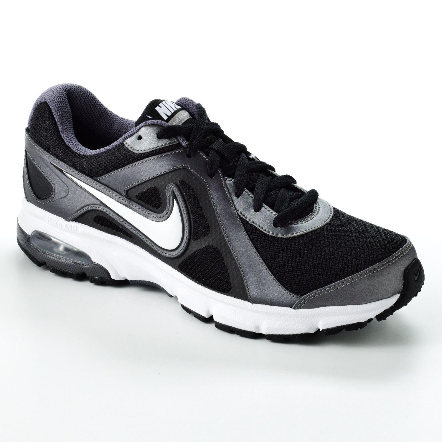 Nike Black Air Dictate 2 High-Performance Running Shoes - Men