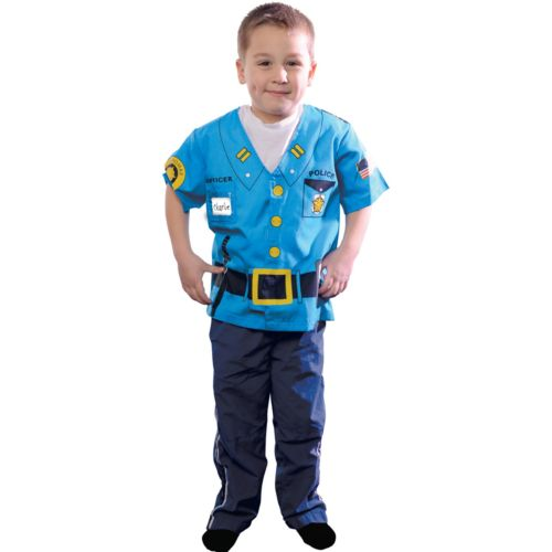 My First Career Gear Police Officer Costume - Toddler