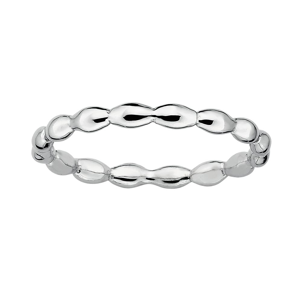 Stacks & Stones Sterling Silver Rice Stack Ring