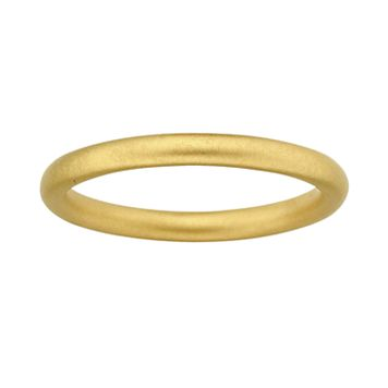 Stacks & Stones 18k Gold Over Silver Satin Finish Stack Ring