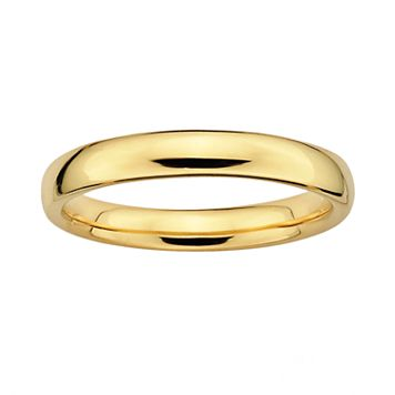 Stacks & Stones 18k Gold Over Silver Stack Ring