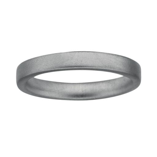 Stacks and Stones Sterling Silver Satin Finish Stack Ring