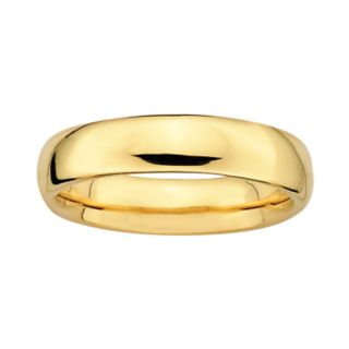 Stacks and Stones 18k Gold Over Silver Stack Ring