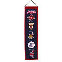 Cleveland Indians Heritage Banner