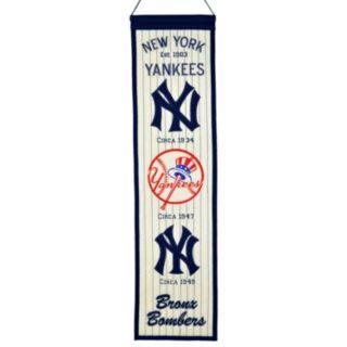 New York Yankees Heritage Banner
