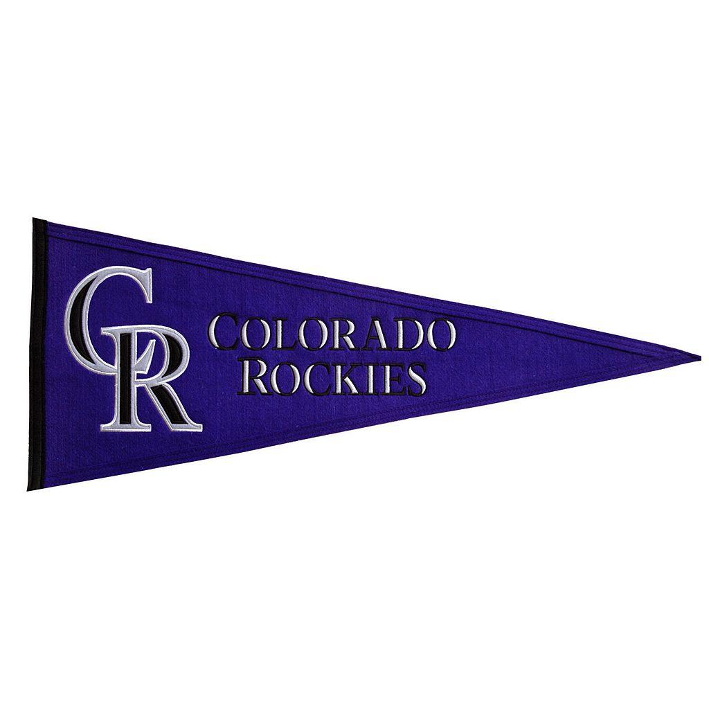 Colorado Rockies Traditions Pennant