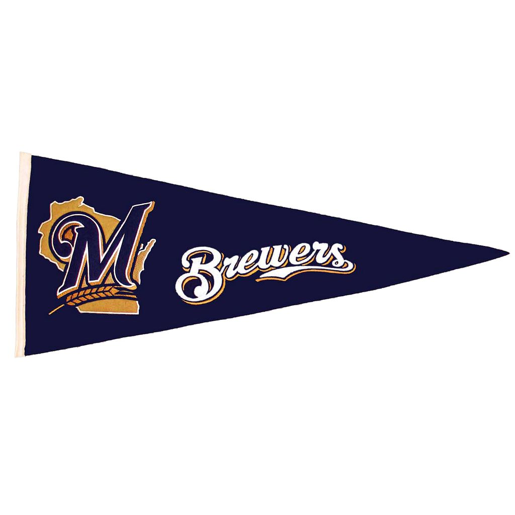 Milwaukee Brewers Traditions Pennant