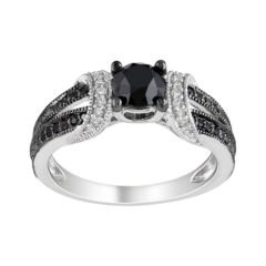 Black Diamond Rings Kohls