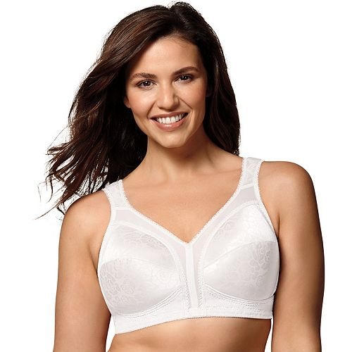 3ca20fb29410d Playtex Bra  18 Hour Ultimate Comfort Strap Full-Figure Wire-Free Bra 4693  - Women s