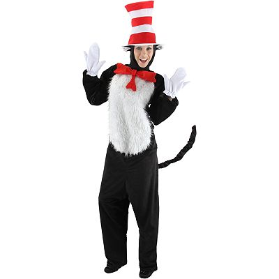 Dr. Seuss The Cat in the Hat Deluxe Costume - Adult