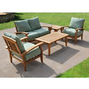 Teak 5-pc. Patio Furniture Set