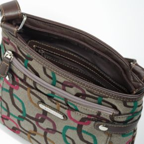 Rosetti Geometric Crossbody Bag