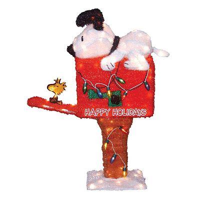 Peanuts Animated Mailbox Decor