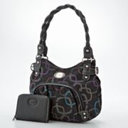 Rosetti Pockets Signature Geometric Tote