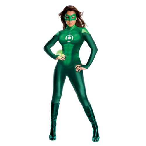 Green Lantern Uniform Costume - Adult