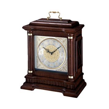 Seiko Oak & Brass Carriage Clock - QXJ004BLH