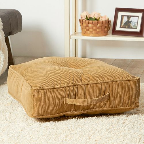 Floor Pillows Kohls : Corduroy Floor Cushion
