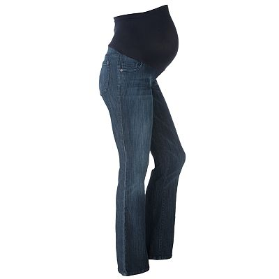 Oh Baby by Motherhood Secret Fit Belly Bootcut Jeans - Petite Maternity