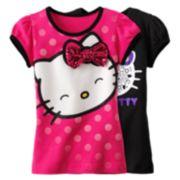 Hello Kitty Glitter Tee - Girls' 4-6x