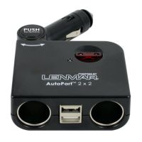 Lenmar AutoPort 2 x 2 Car Adapter