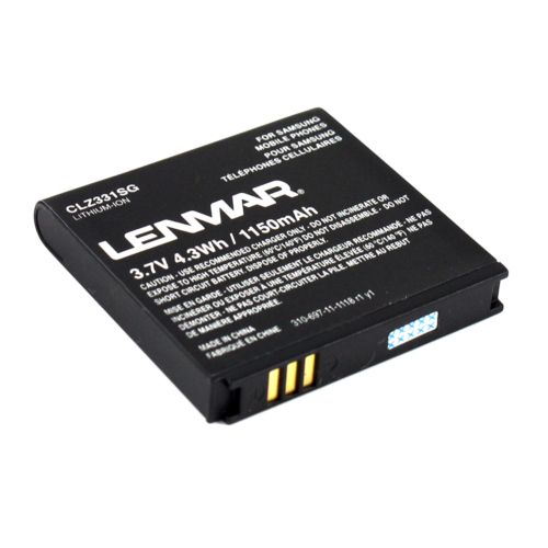 Lenmar CLZ331SG Lithium-Ion Cell Phone Replacement Battery