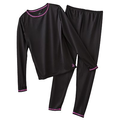 Cuddl Duds Long Underwear Set - Girls' 4-16