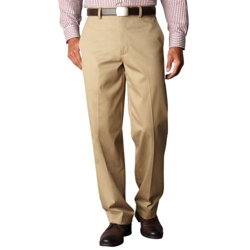 Dockers® Signature Khaki D4 Relaxed-Fit Flat-Front Pants