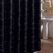 Veratex Eclipse Fabric Shower Curtain