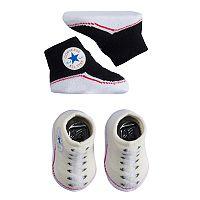 Baby Converse 2 pkSneaker Booties
